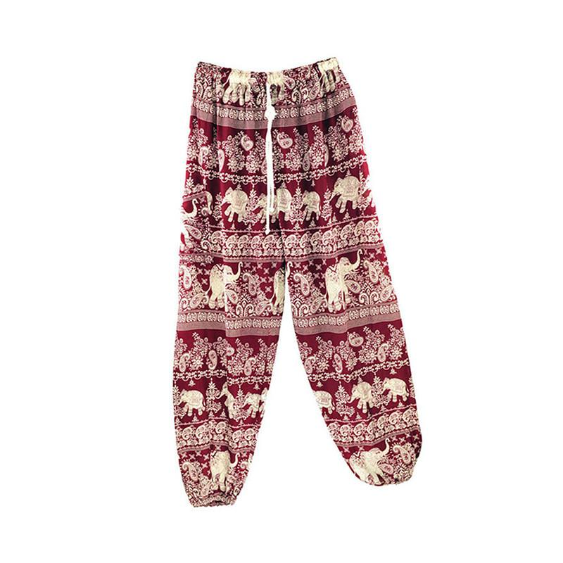 4bb8a28ac1 2019 Indian Summer Loose Yoga Pants Ladies Comfy Yoga Beach Baggy Gypsy  Women Harem Pants Trousers From Teawulong, $44.25 | DHgate.Com
