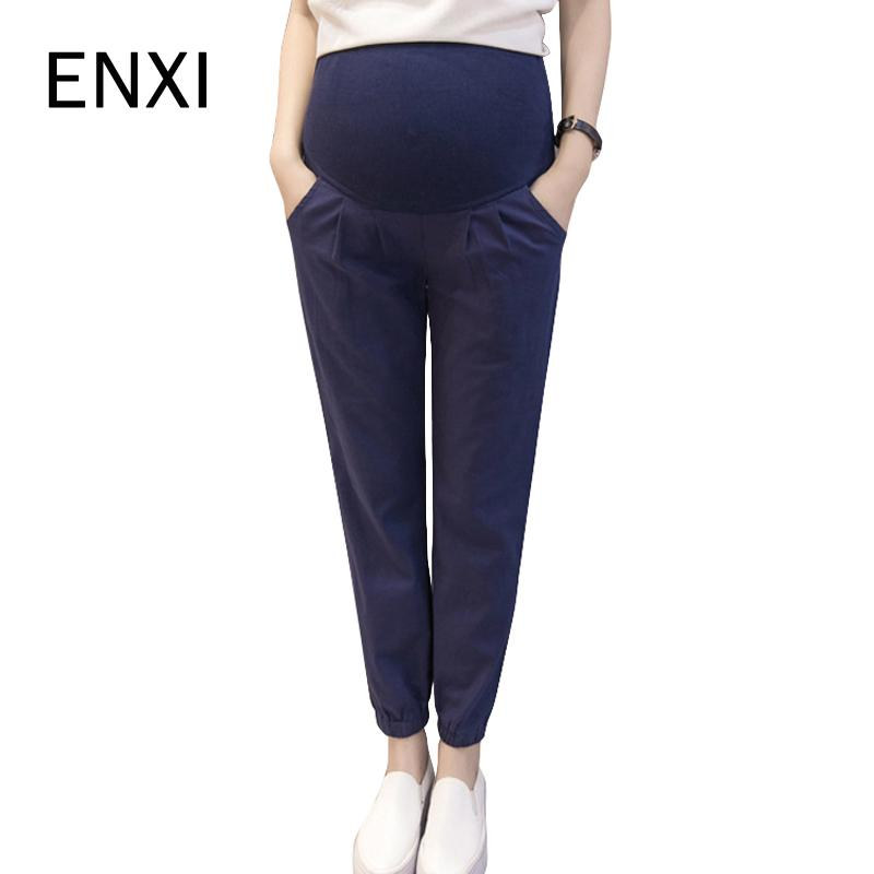 827bcc6cdf2d5 2019 ENXI Maternity Harem Pants 2018 Summer Pregnancy Harem Trousers Casual  Maternity Clothing Clothes For Pregnant Women From Xunqian, $25.38 |  DHgate.Com