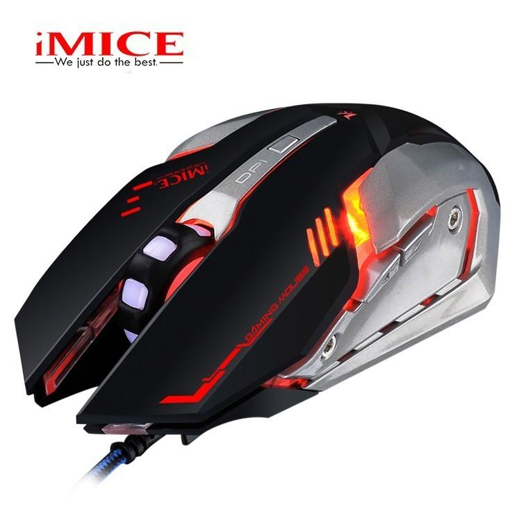 2e51be2ec5c 2019 IMICE V8 Wired Gaming Mouse USB Optical Computer Mause Gamer  Professional 4000DPI Ergonomic LED Light Mice For PC Laptop Game From  Somnuns, ...