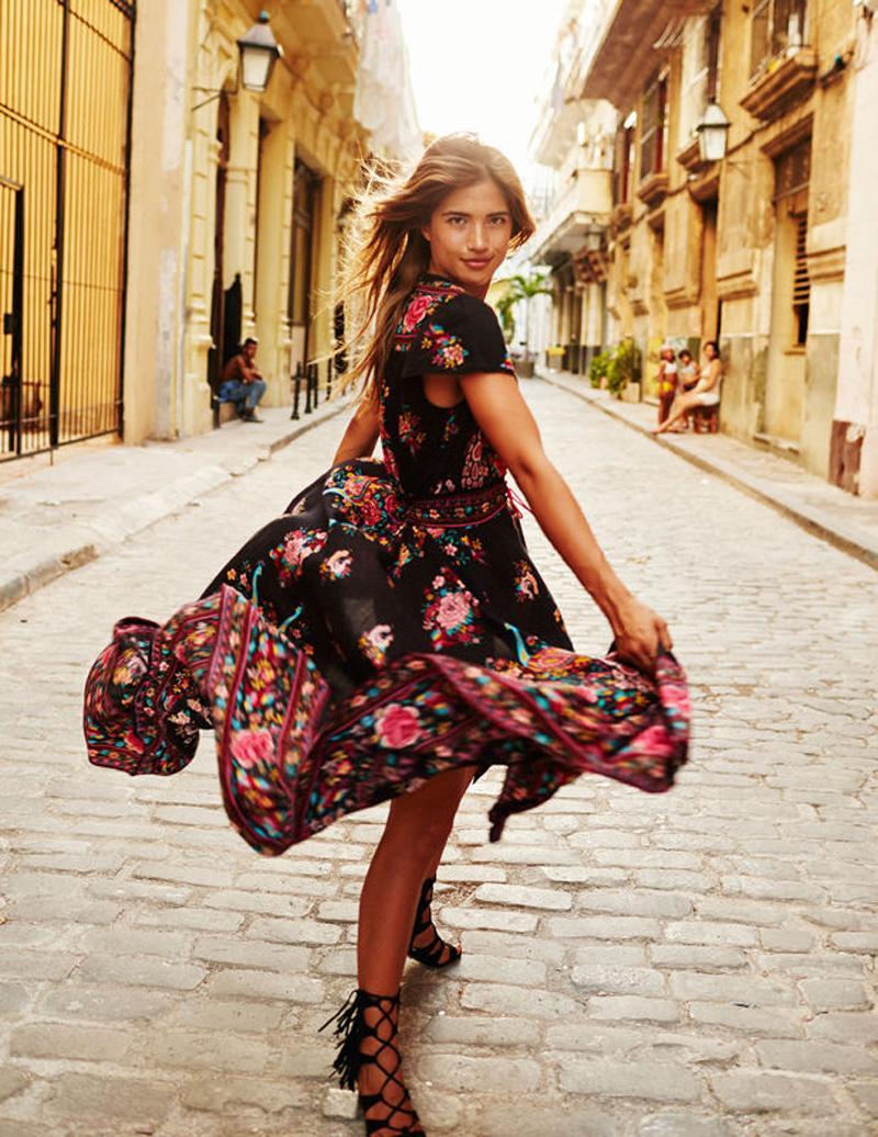 2018 New Fashion Women Long Bohemian Short Sleeve Evening V Neck ...