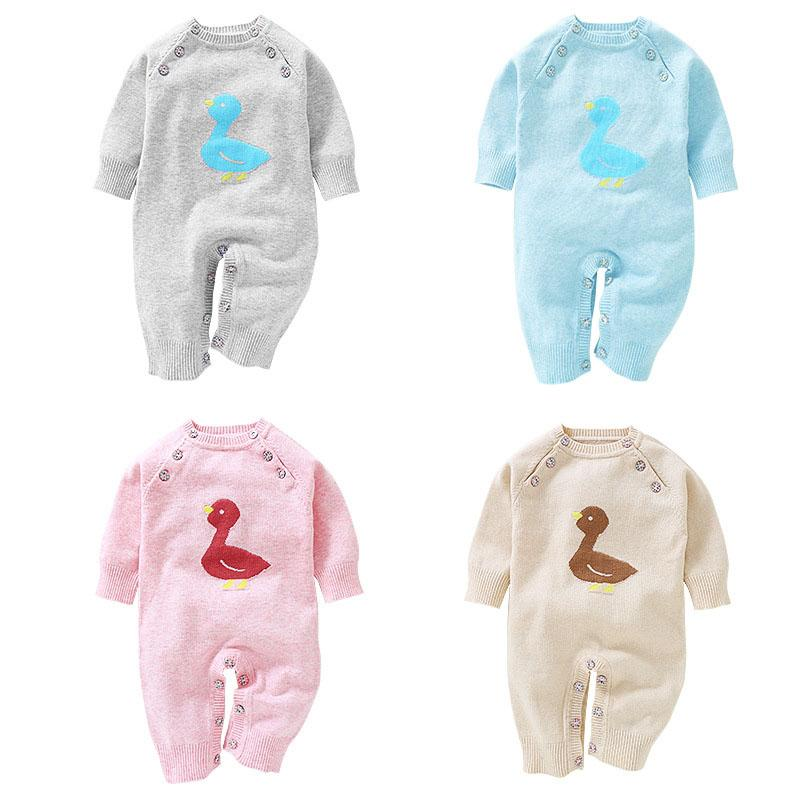 3d1481f7fee2 Baby Girl Boys New Born Winter Autumn Fall Birth Clothes Sweaters ...