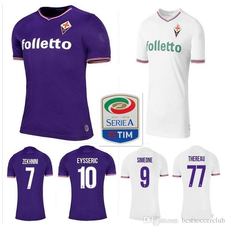 Maillot Domicile Fiorentina GIOVANNI SIMEONE