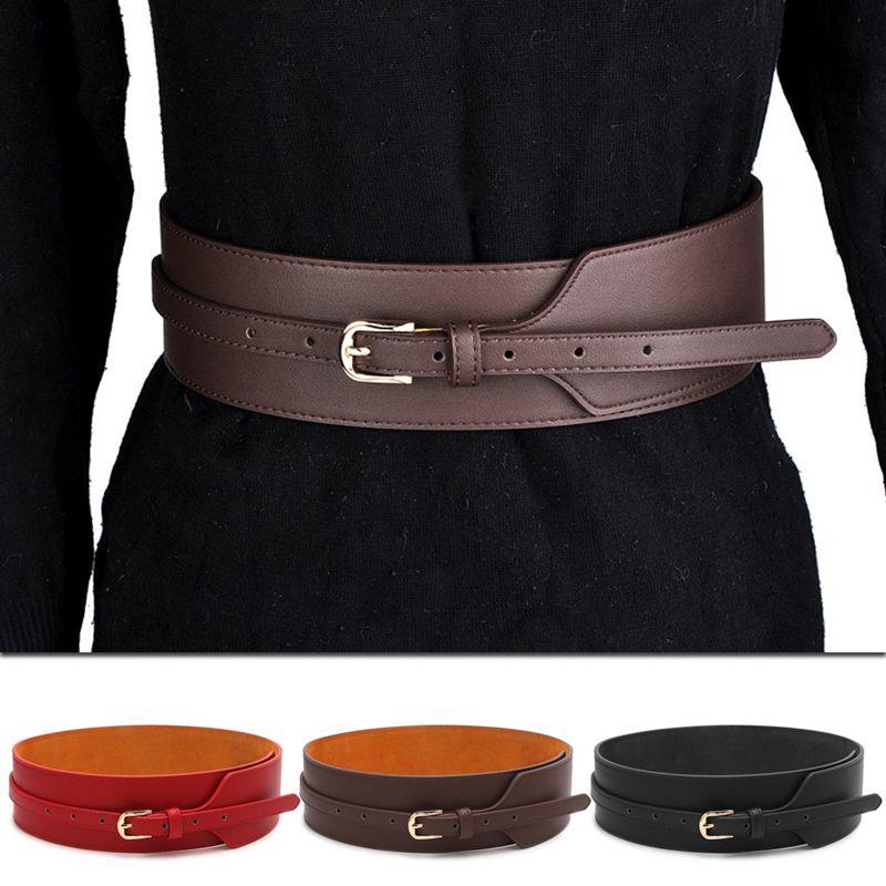 f222d9439 Genuine Leather Belt For Women Fashion Pin Buckle Cowhide Leather Women  Belts Joker Wide Belts Womens Batman Belt Western Belt Buckles From  Value222, ...