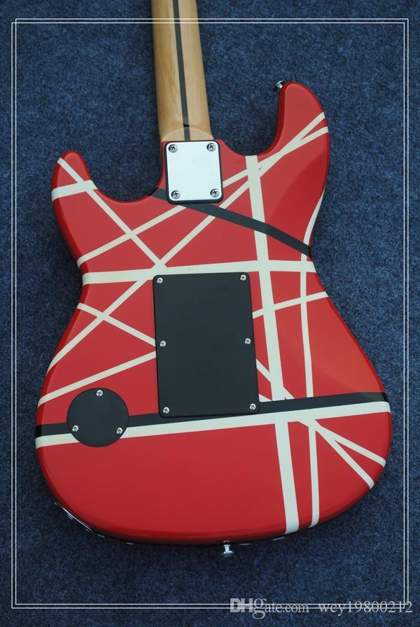 Для профессионалов MUSICMAN Китай высокое качество гитара музыка человек 6 Strngs Красный твердого тела Бесплатная доставка