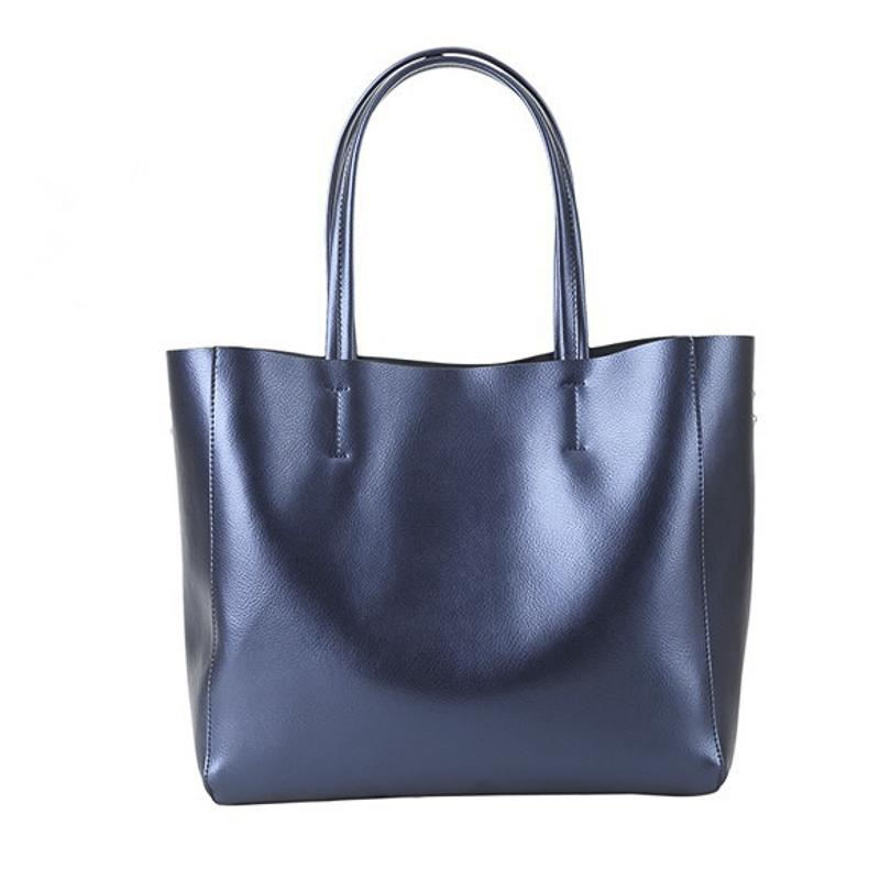 bc6f8a1ae Vintage Women Soft PU Leather Shoulder Bag Large Capacity Handbag Big Tote  Bag Design Shopping Travel Bag Leather Handbags Handbags On Sale From  Zhongjia2, ...