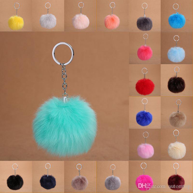 Free DHL 30 Styles Faux Fur Ball Keychain Pom Pom Car Key Rings Handbag Key  Holder Wallet Backpack Keyfob Women Accessorices Gift H575Q Monkey Fist  Keychain ... f3e3c198b1