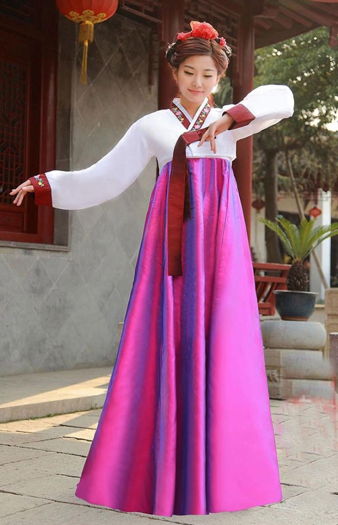 61b6b1ffee51 Acquista 2016 Nuovi Abiti Tradizionali Hanbok Coreano Asia Abiti  Tradizionali Abiti Da Donna Abbigliamento Sera Cantante Costume Cosplay A   59.08 Dal ...