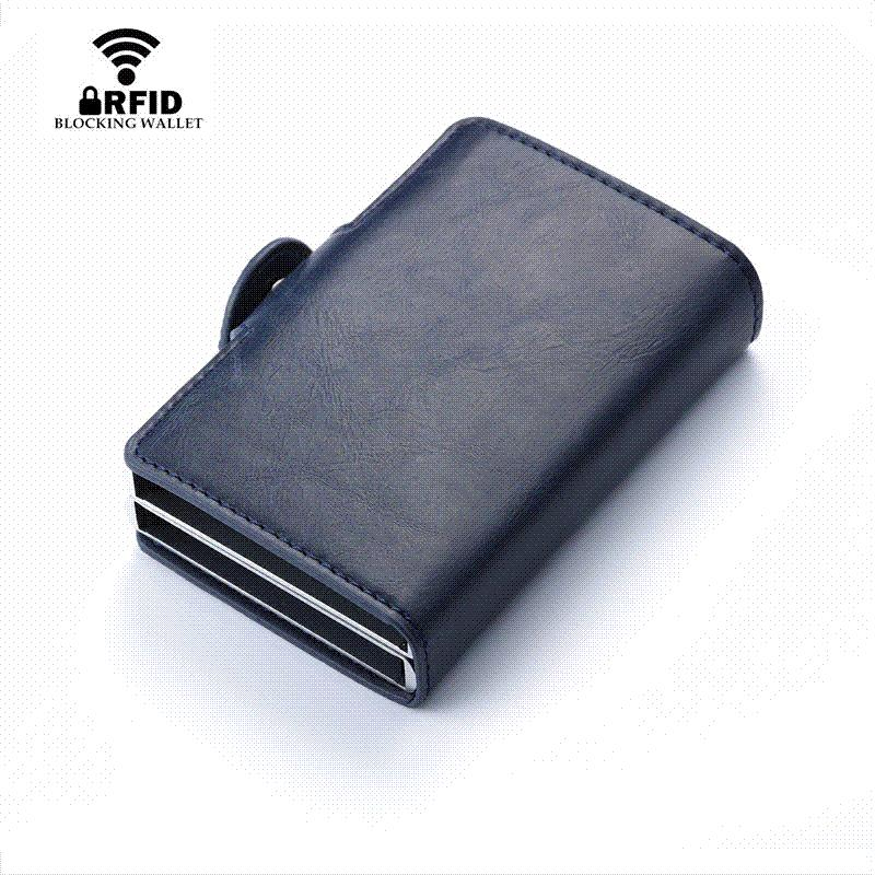 Bisi Goro 2018 Men And Women Business Credit Card Holder Metal Rfid ...