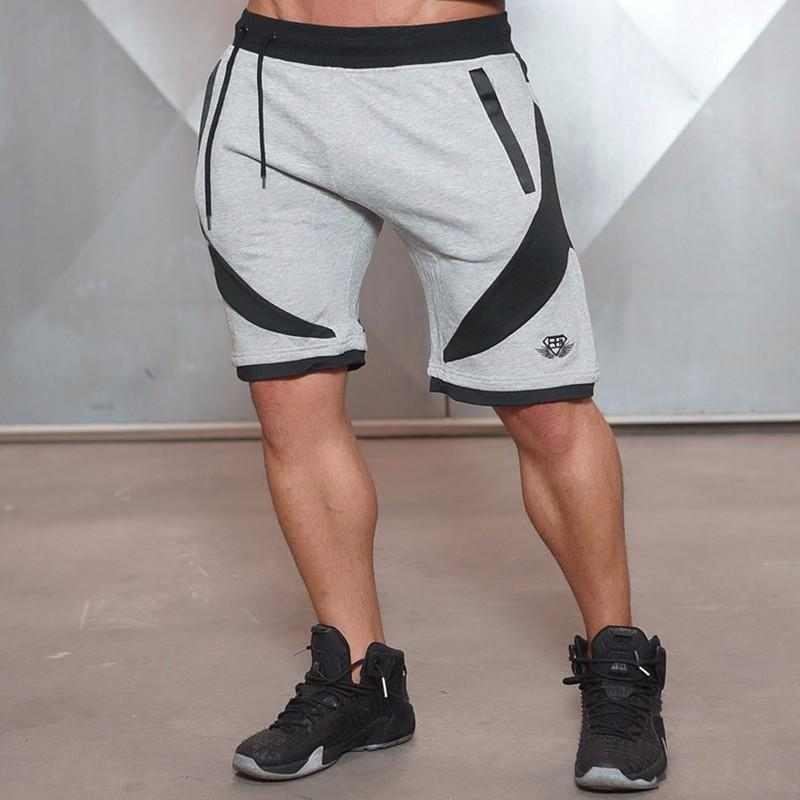 b2214fbcff88 2019 2018 Board Men Bodybuilding Fitness Leisure Summer Breathable And Slim  Aesthetic Loose Casual Quick Drying Beach Shorts From Honry, $25.39    DHgate.Com