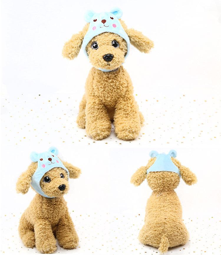 New pet hat dog dog zoo hat Teddy pet dog cap personality cute hat rabbit, chicken, giant panda frog, bear cartoon