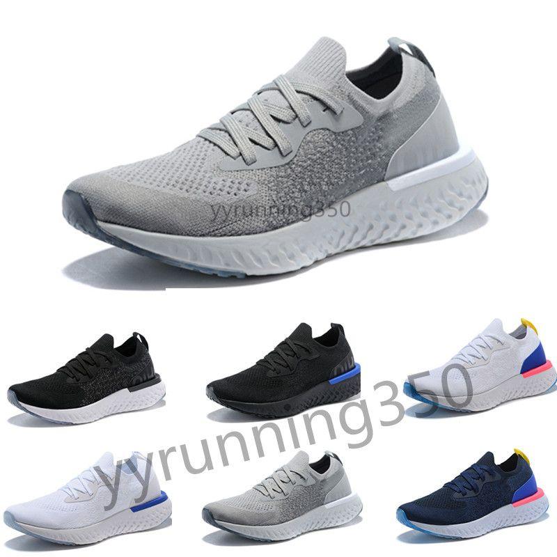 size 40 f6b89 31d4a Großhandel Nike Flyknit Epic React 2018 New Free Run Epic React Stricken Casual  Laufschuhe Herrenschuhe Hohe Elastische Männer Und Frauen Sport Trainer ...