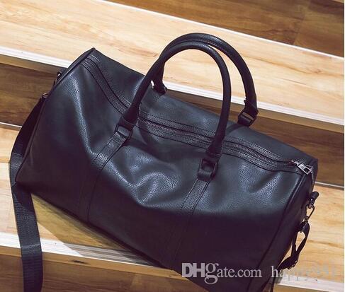 e8ef565a46e7 2018 new fashion men women travel bag duffle bag, brand designer luggage  handbags large capacity sport bag 62CM