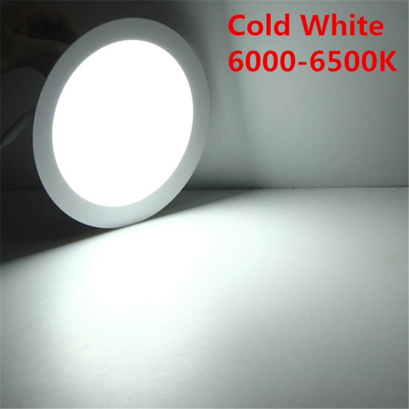 LED Downlight 3W 6W 9W 12W 15W 25W Recessed LED Ceiling Down Light Panel Light with driver 110V/220V Round/Square LED Downlight