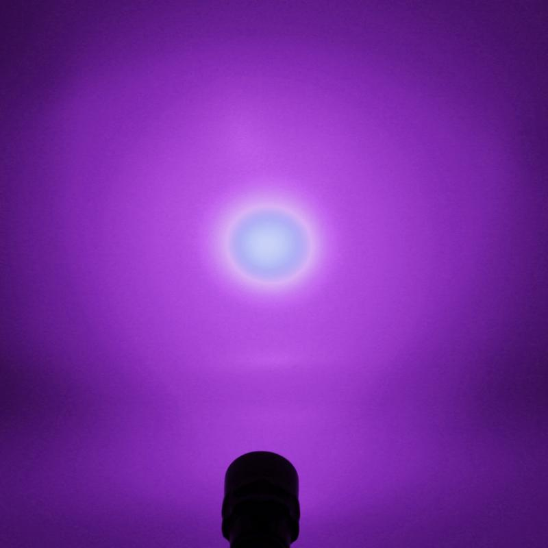 Aluminum 10W Ultraviolet Lantern 3000LM 395nm 3x Purple UV Light Underwater 100M Waterproof UV Diving Flashlight Torch