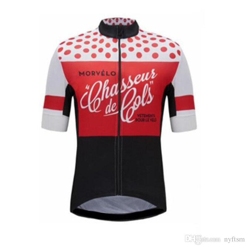 dfc5323fd 2018 Anti Shrink Mens Bike Team Cycling Jersey Tops Short Sleeve Bike  Clothing Summer Style Pro MTB Bike Jersey Shirt Only 100% Polyester Bicycle  Clothing ...