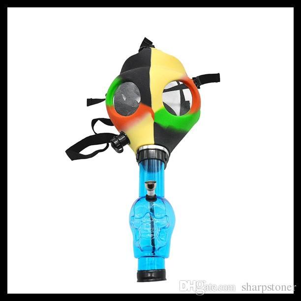 Gas Mask Bong Hookah Smoking Party Gas Mask Water Hookah Pipe Bong Shisha Water pipe Random