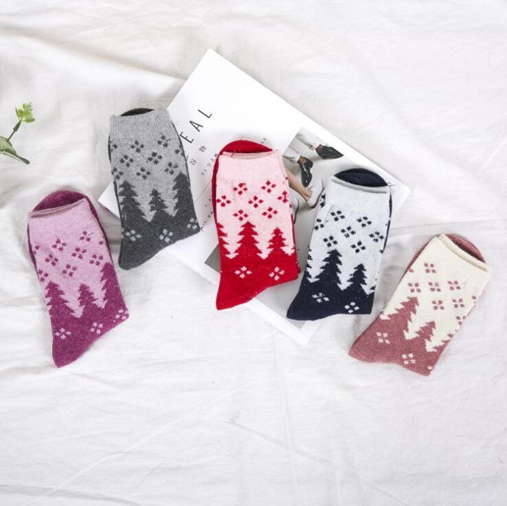 Großhandel Frauen Socken Dame Weihnachtsgeschenk Socke Mode Winter ...