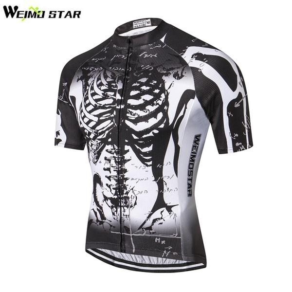 07c53d0f4 Mens Polyester Cycling Jersey Bike Sport Wear Bicycle Outdoor Short Sleeve  Shirt Cycle Clothes Cycling Clothing Mens Shirts Shirts For Men From ...