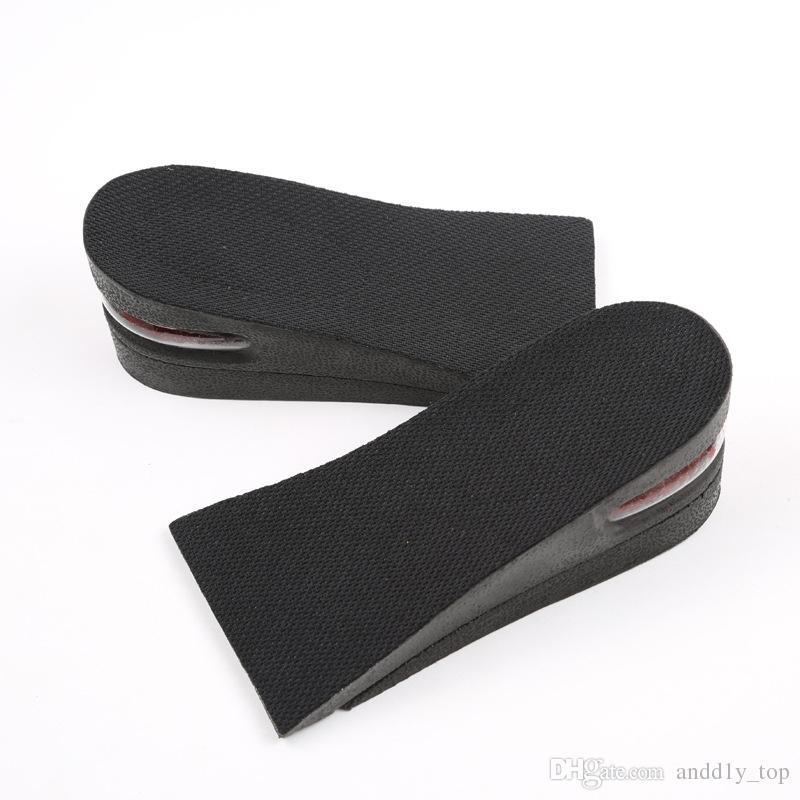Artan ayakkabı pedi nefes ayrılabilir görünmez ayakkabı asansör yarım yard ped Yüksekliği Artan topuk pedleri Erkekler ve Kadınlar astarı