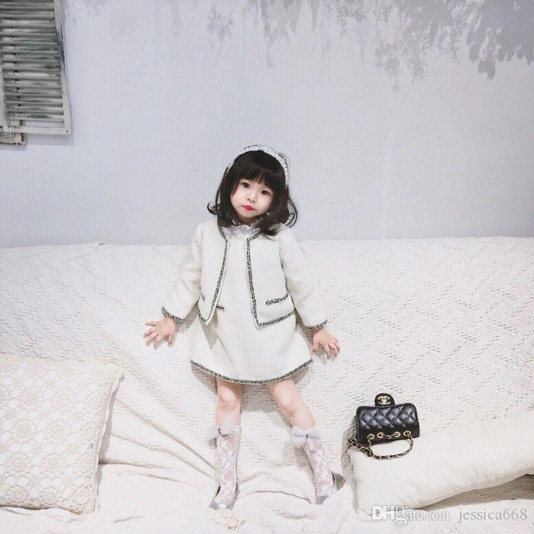 9cfd201f5ae7 Autumn 2018 Girls Dress Embroidery Princess Dresses For Girls Jacket ...