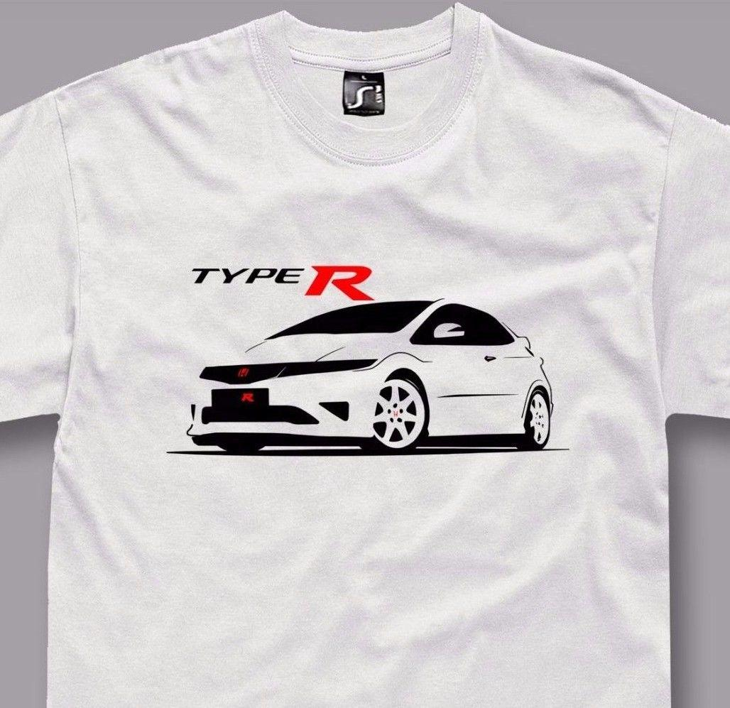T Shirt For Honda Civic Type R Fans Fn2 Jdm Tshirt S 5xl Raid Shirt
