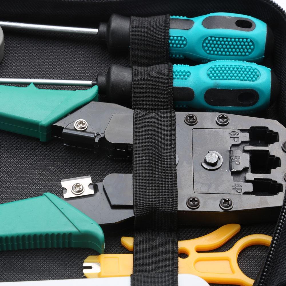 11 In 1 Generic Network Maintenance Computer Repair Kit Tool Bag Computer Maintenance And Repair Hand Tool Sets Computer Repair Kit Tool Bag