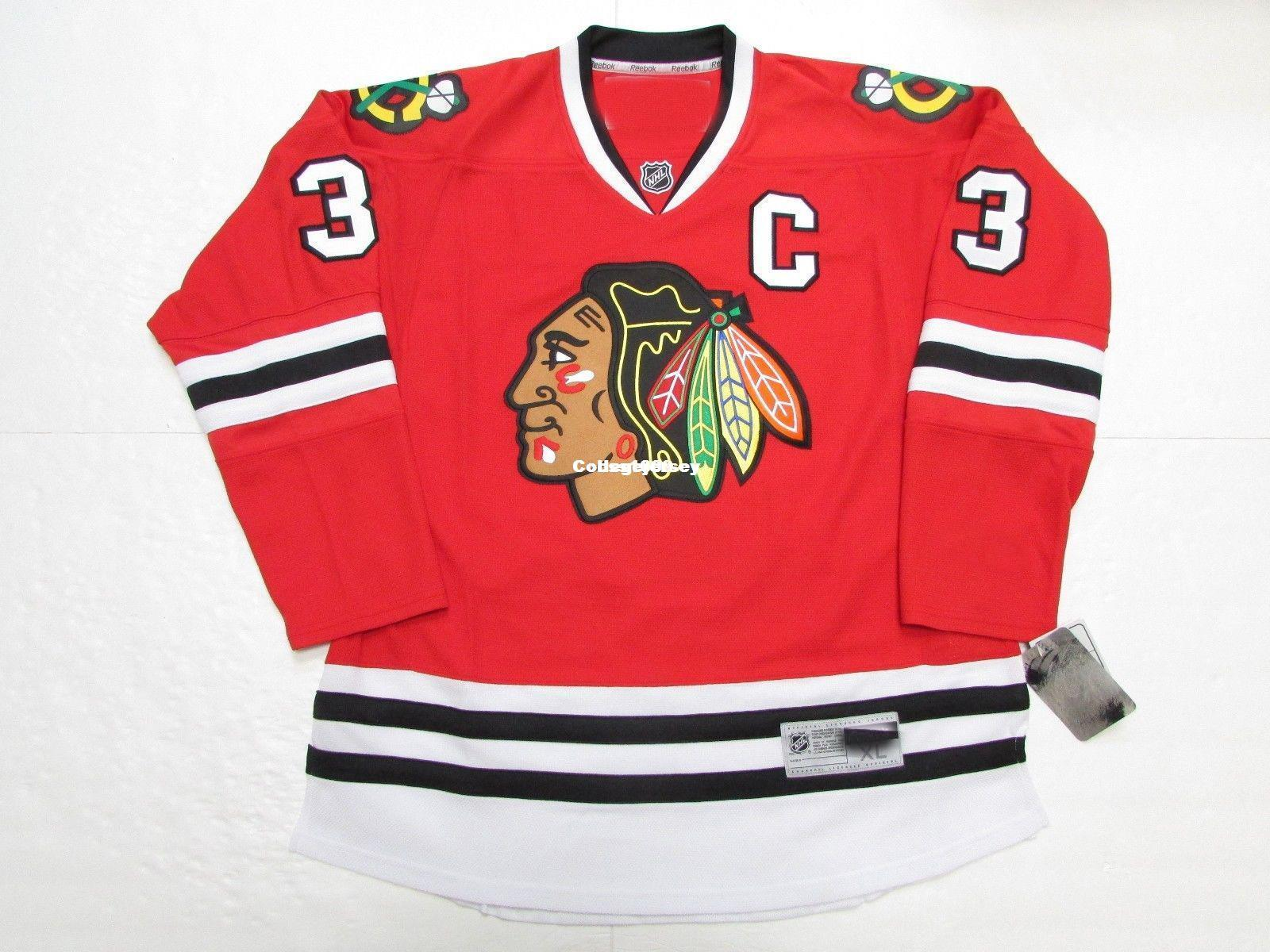 2018 Cheap Custom Keith Magnuson Chicago Blackhawks Home Premier 7185 Hockey  Jersey Stitch Add Any Number Any Name Mens Hockey Jersey Goalie Cut From ... 4645ae5c4