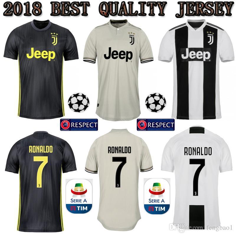 Cristiano Ronaldo Juventus Home Third Kit Jersey 20182019 c6e333ae7