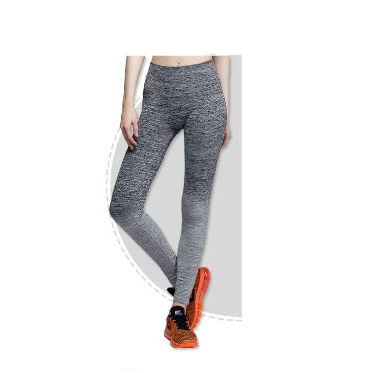High Quality Women Sport Sex Yoga Leggings Elastic Tight Fitting Pants Slim Fitness Pencil Fashion Trousers