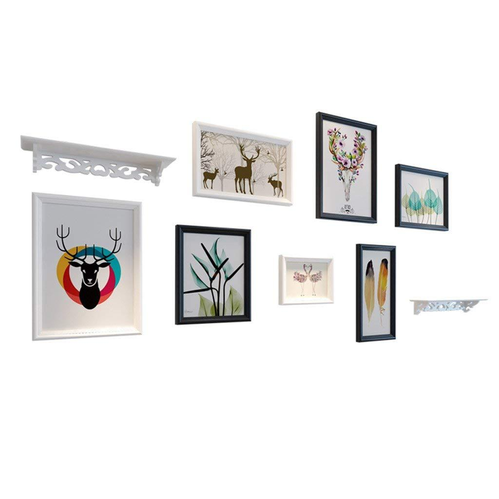 Wall Photo Frames With Real Glass, Including Installation ...