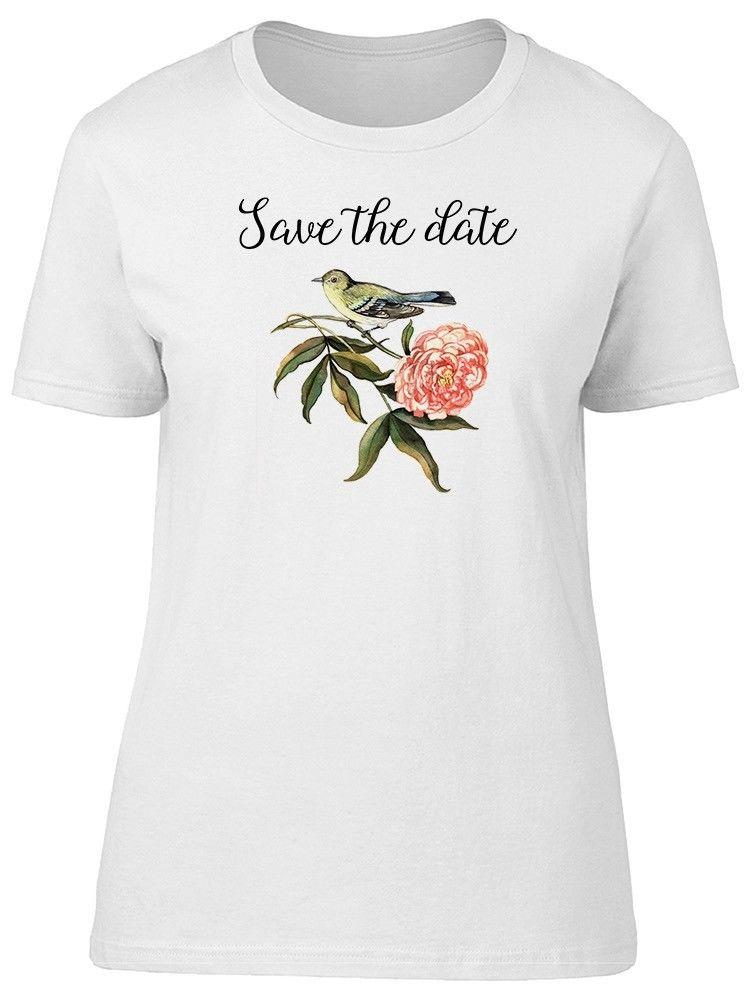c5b9662f Vintage Bird And Peony Women's Tee -Image by Shutterstock