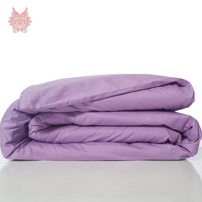 Wholesale Modern Style Multi Color Solid Pure 100%cotton Duvet