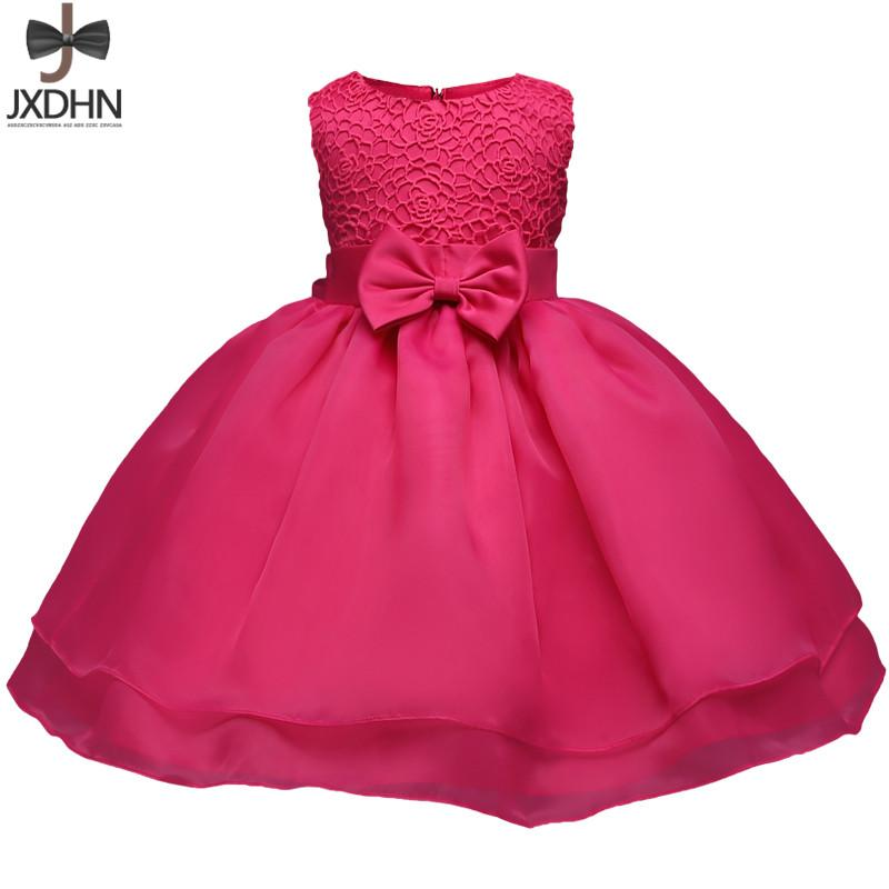 9f159564ef4c 2019 Newborn Baby Girl Clothes One Birthday Dress Toddler ...