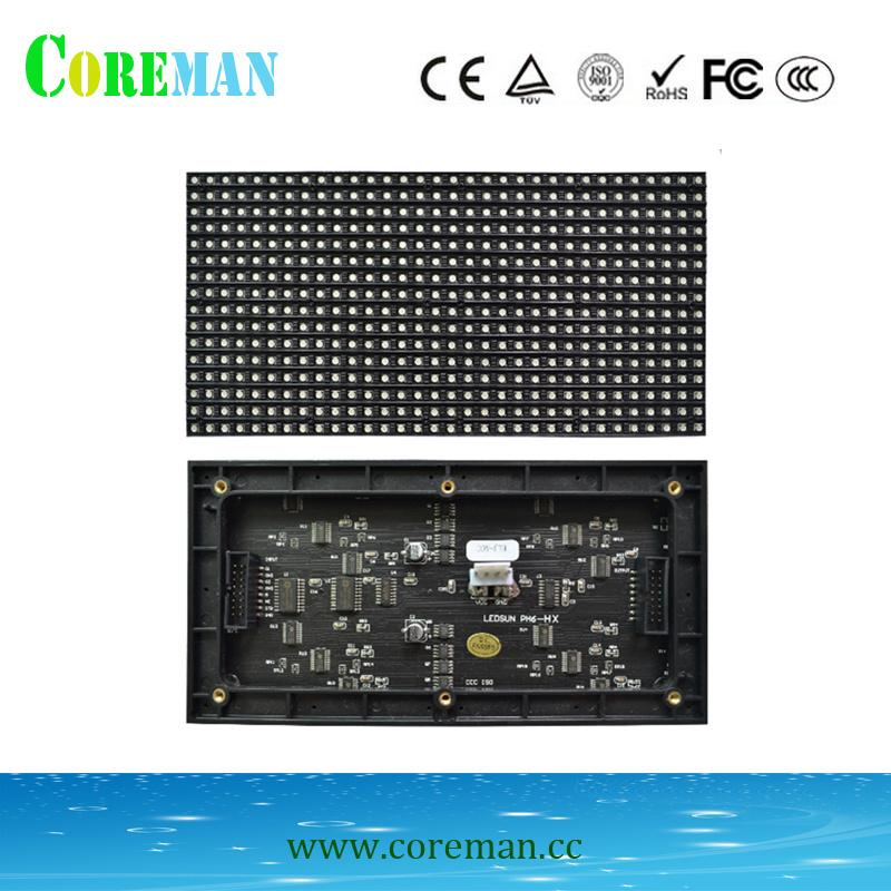 p6 indoor full color led display screen module 192*96 p6led panelp6led  board p6 led dot matrix screen