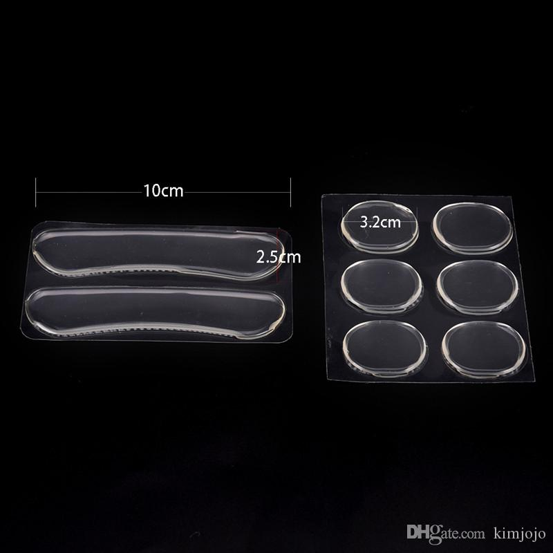 High Heel Inserts Care for Liner Insoles Heel Pad Slip-resistant Shoes Stickers Pain Relieve Cushion Pads