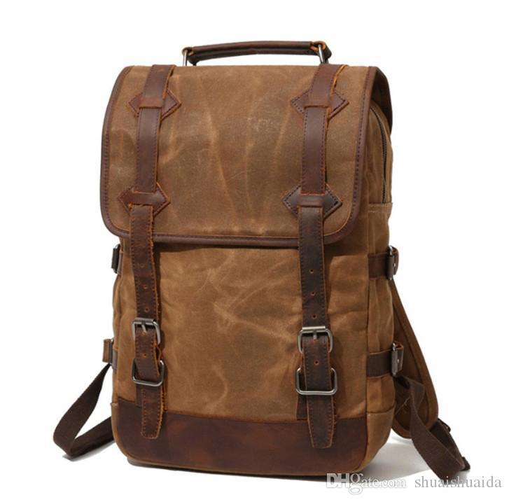2161ae8d14 2018 Computer Shoulder Bag Outdoor Sports Travel Backpack Schoolbag  Knapsack Canvas Pure Color Men And Women School Bags Handbag A16990 Sports Bags  Bags For ...