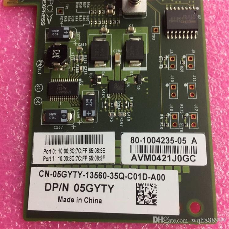 100% für die Arbeits Qlogic QLE2560-IBMX IBM 42D0501 42D0507 42D0503 8 Gb FC HBA DELL BR825 HBA 8G 5GYTY Qlogic QLE2562 8 GB