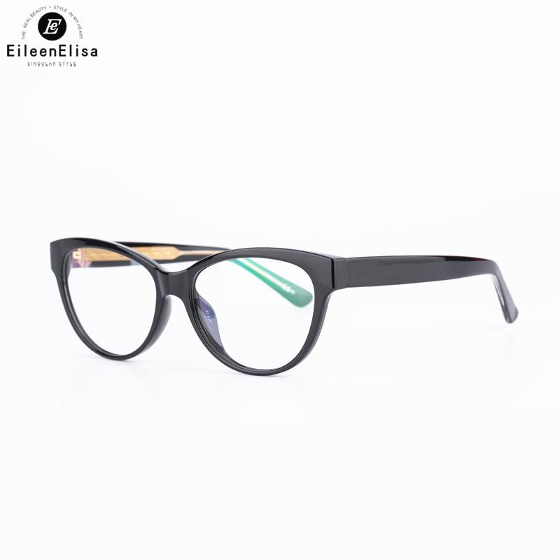 7f3227a691a4 2019 2018 EE Brand Design Women Eyewear Frames Acetate Material Clear Lens Reading  Eyeglasses Oculos De Grau Spectacle Glasses Frame From Fashionkiss