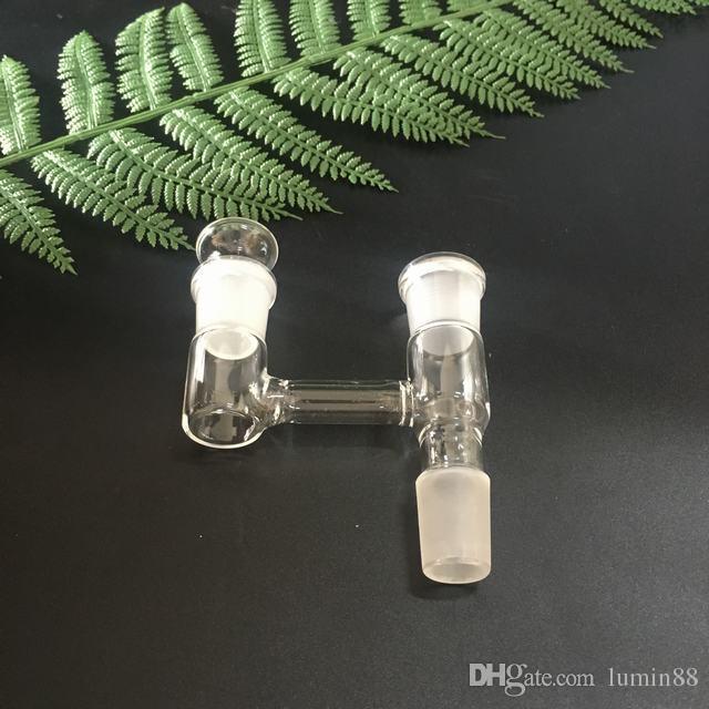 유리 물 담뱃대 14 및 18.8 mm Clound Buddy Y 어댑터, 플러그 타입 탄수화물 남성 여성 커넥터