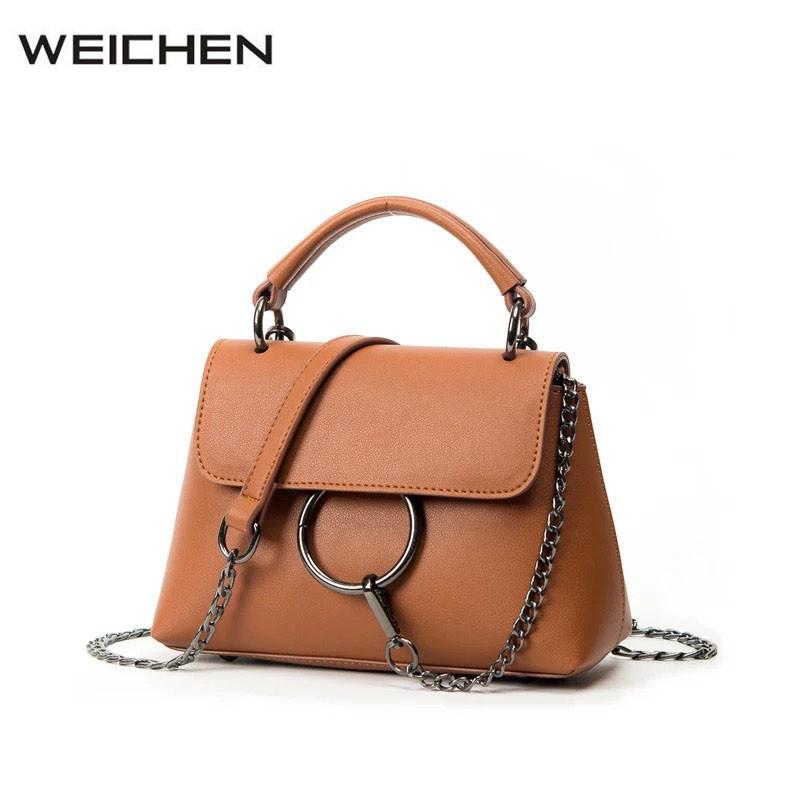 0dad1471df3 Luxury Handbags Women Bags Designer 2018 Circle Ring Female Shoulder  Messenger Bag Ladies Crossbody Bag Sac A Main Taschen Women