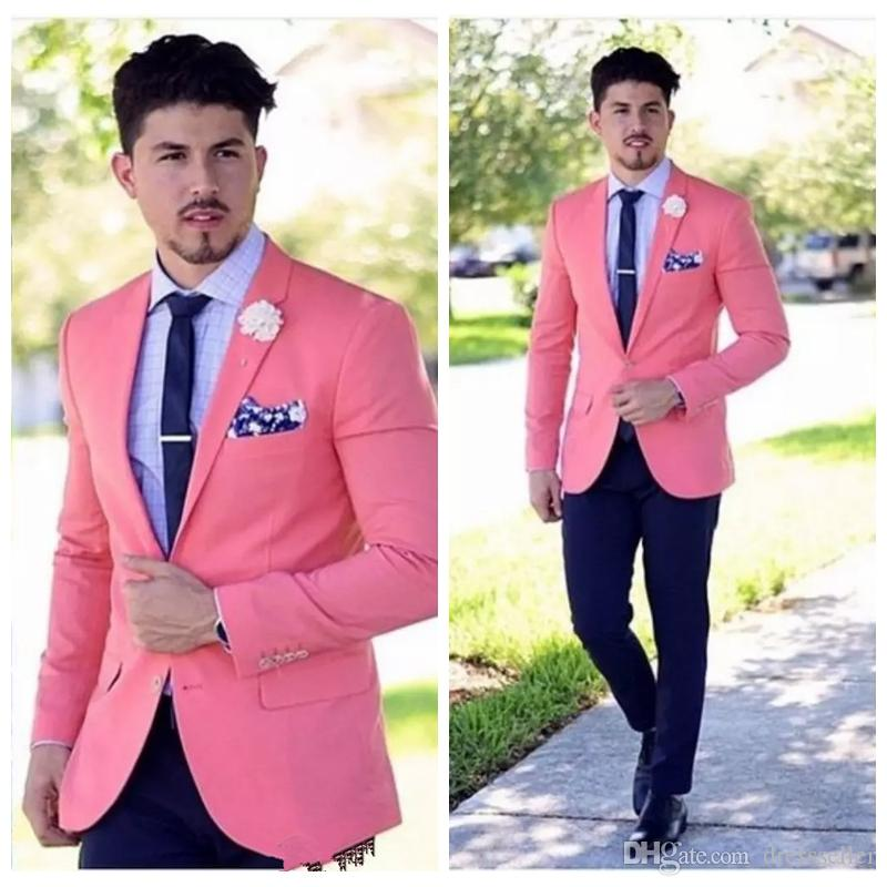 2019 Cheap Wedding Mens Suits Slim Fit Groom Tuxedos For ...