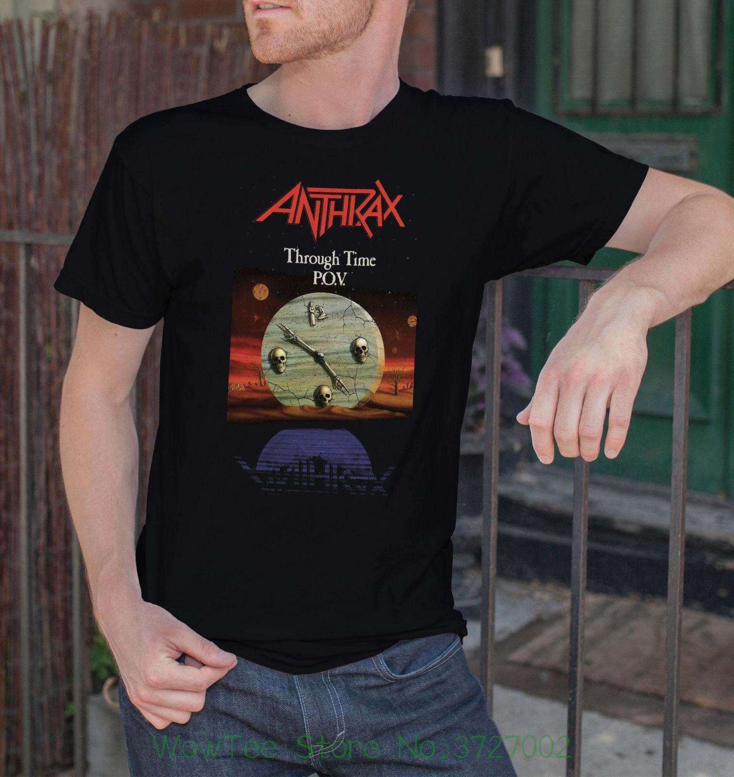 5c1e213c Anthrax Men Black T Shirt Trash Metal Tee Shirt Heavy Metal Band Tshirt S  Xxl 4 Round Neck Men Top Tee Funny Tee Shirt Buy T Shirt Designs From  Wowteestore, ...