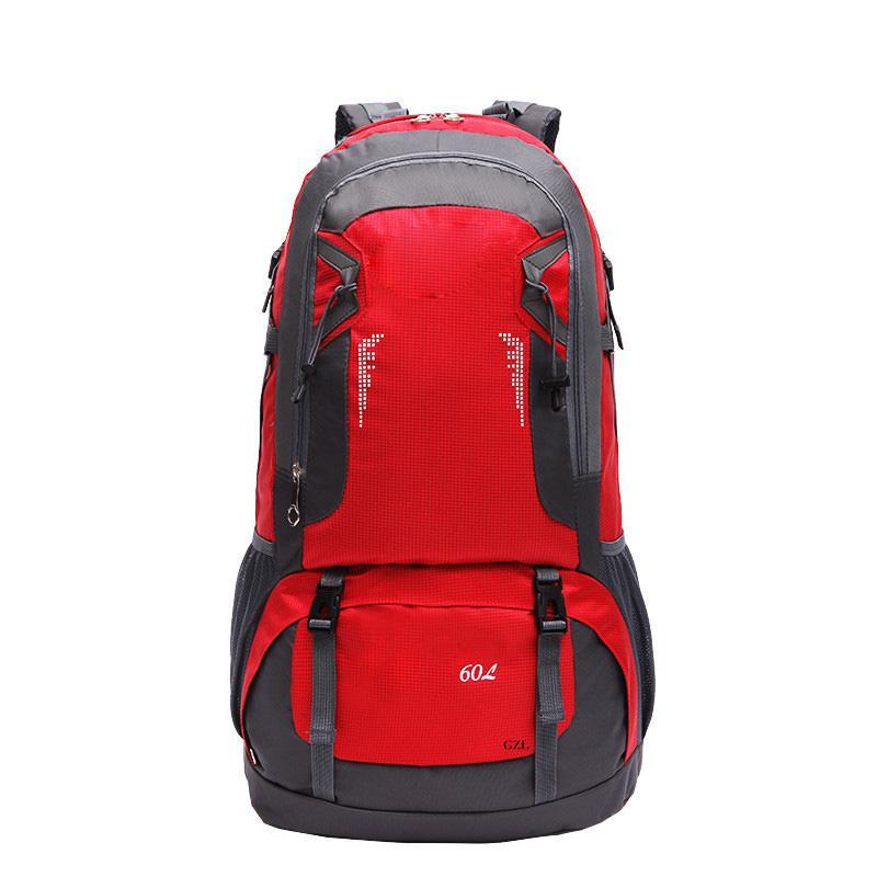 23c4d72f74 GZL 60L Waterproof Backpack Trekking Travel Bags Women Men Travel Backpack  Multi Purpose Big Capacity Large Lovers Bag Black8007 Bags Suitcases From  ...