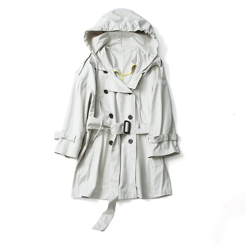 ceefc42a 2019 Top Design! 2018 Autumn New Arrival Office Lady Trench Women Coat  HMR18130AUG2 From Yesterlike, $162.56 | DHgate.Com