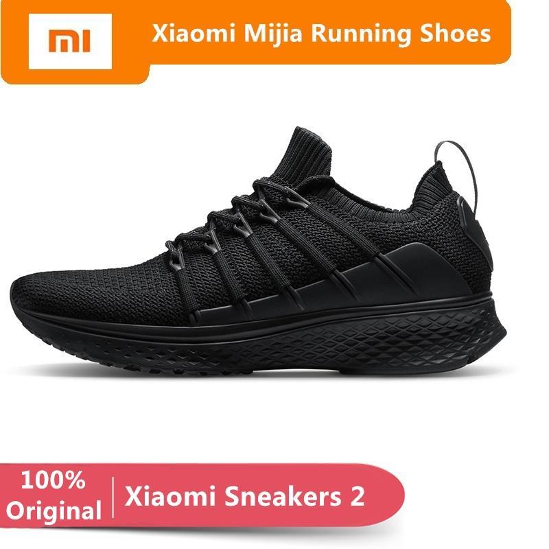8b62cab59c18b 2019 Original Xiaomi Mijia Sneakers 2 Men S Sports Outdoor Shoes Mi Smart  Sneaker Elastic Kniing Breathable Vamp Running Shoes From Comen
