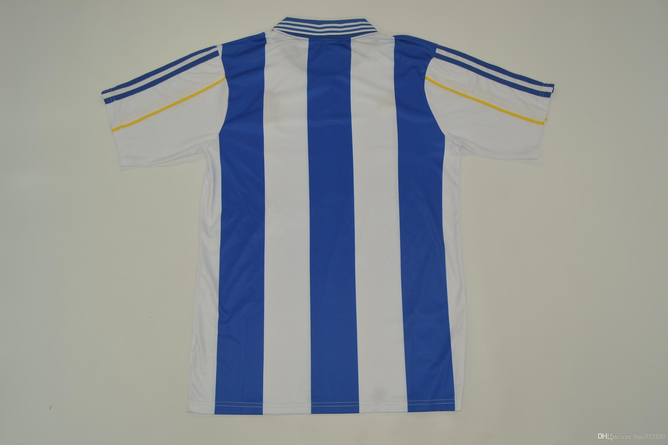 8772166c9 2019 2000 01 Deportivo La Coruna Home Jerseys Classic Shirts Retor  JerseysValerón Mauro Silva Tristán Djalminha Vintage Rugby Jerseys From  Hao332530