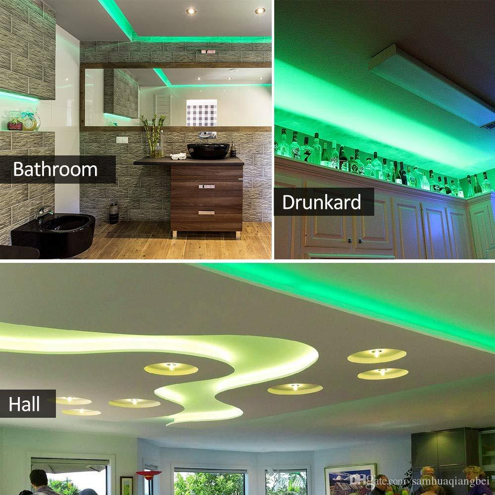 Excellent Green Led Light Strip 300 Leds 72 Lumens 1 3 Watts Per Foot 12V Dc Adhesive Backed For Kitchens Cabinets Displays Bedrooms Home Interior And Landscaping Ponolsignezvosmurscom