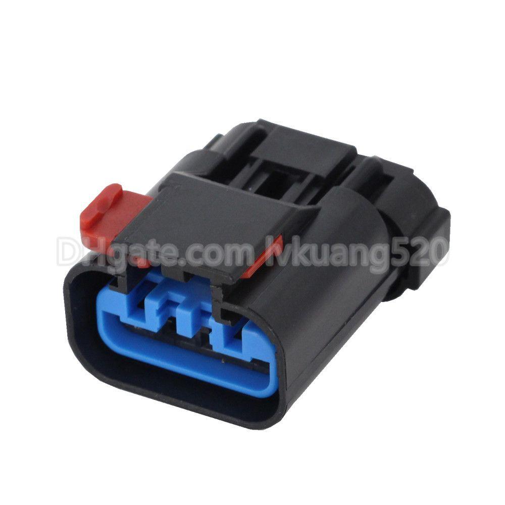 4 Pin automotive Plastic waterproof sensor connector harness connector with terminal plug 54200409, DJ7046Y-2.8-21