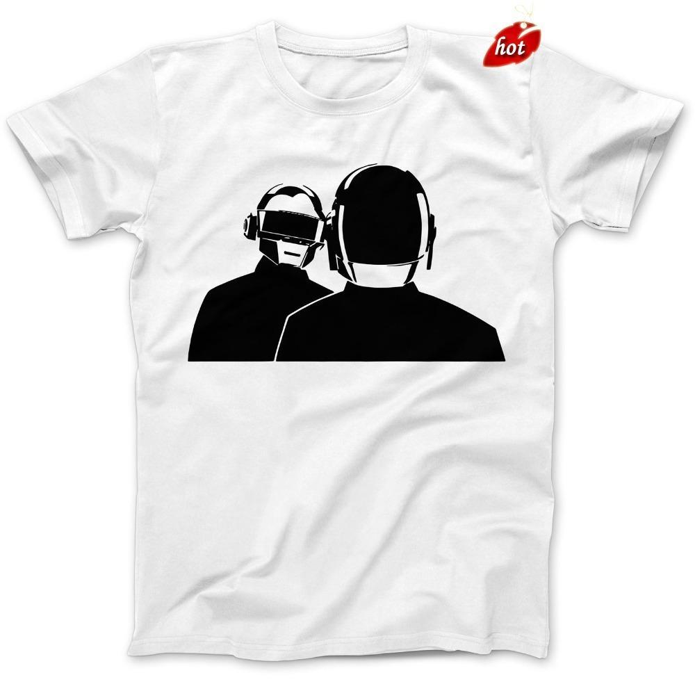 e39cc3700 Fashion Funny Tops T Daft Robot Helmets T-Shirt 100% Cotton ...