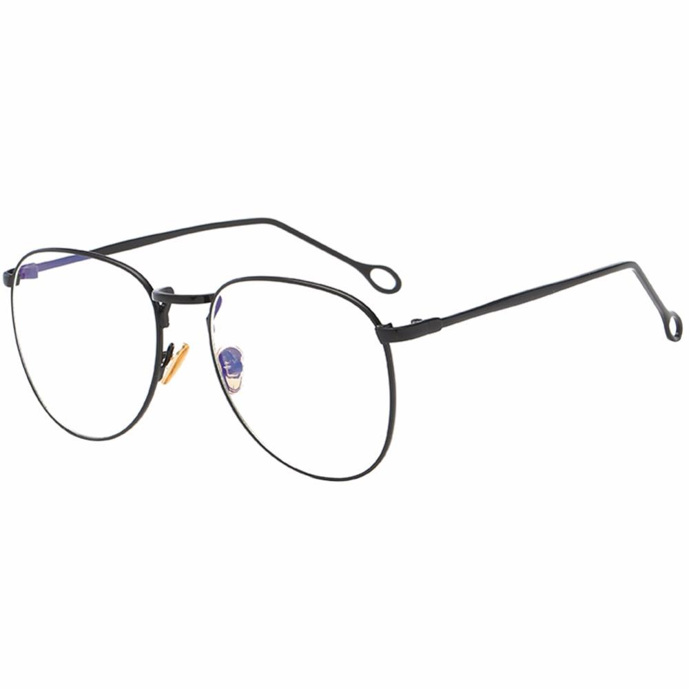 6a647fd5f39 Metal Frame Stylish Leg Myopia Finished Glasses Nearsighted ...